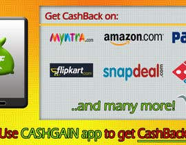 #3 for Design a Coverpage & Banner for Cash Gain App af haneef10