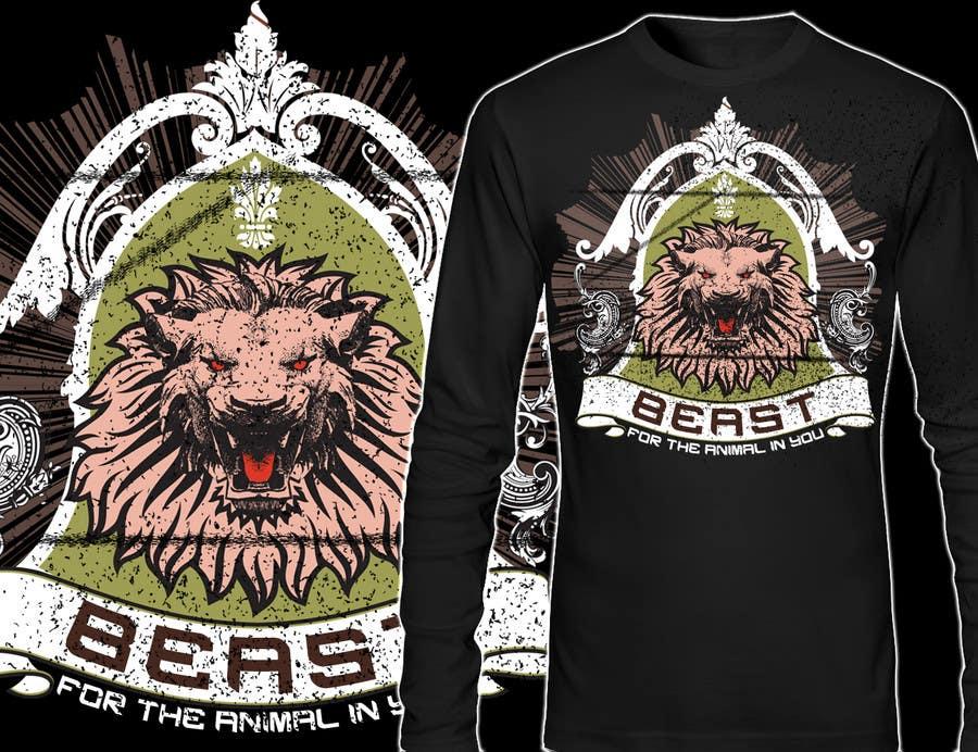 Kilpailutyö #29 kilpailussa Design a Mens or Womens MMA style T-Shirt
