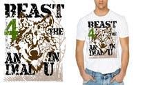 Graphic Design Kilpailutyö #7 kilpailuun Design a Mens or Womens MMA style T-Shirt