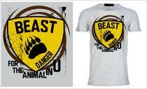 Graphic Design Kilpailutyö #10 kilpailuun Design a Mens or Womens MMA style T-Shirt