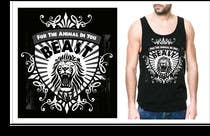 Graphic Design Kilpailutyö #23 kilpailuun Design a Mens or Womens MMA style T-Shirt