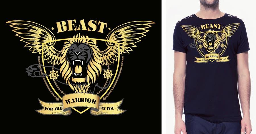 Kilpailutyö #35 kilpailussa Design a Mens or Womens MMA style T-Shirt