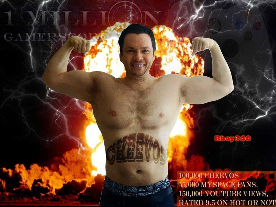 Penyertaan Peraduan #                                        17                                      untuk                                         Add Muscles, Lightning, Fire and Awsomeness to a photo of Me