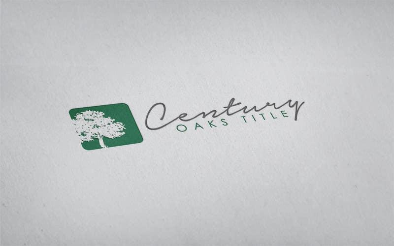 Konkurrenceindlæg #78 for Design a Logo for Century Oaks Title
