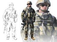 Bài tham dự #2 về Graphic Design cho cuộc thi Soldiers VS Terrorists Concept Art