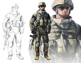 #2 for Soldiers VS Terrorists Concept Art by aprilily21