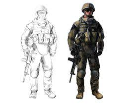 #3 for Soldiers VS Terrorists Concept Art af aprilily21