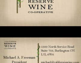#2 for California Wine Business Cards by tedatkinson123