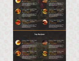 muhamedibrahim25 tarafından Food Website Design için no 6
