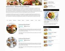 webidea12 tarafından Food Website Design için no 5