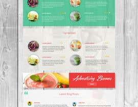 zlostur tarafından Food Website Design için no 13