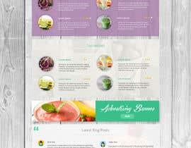 zlostur tarafından Food Website Design için no 44