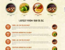 lassoarts tarafından Food Website Design için no 33