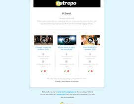 nº 28 pour Design of one email par sayedphp