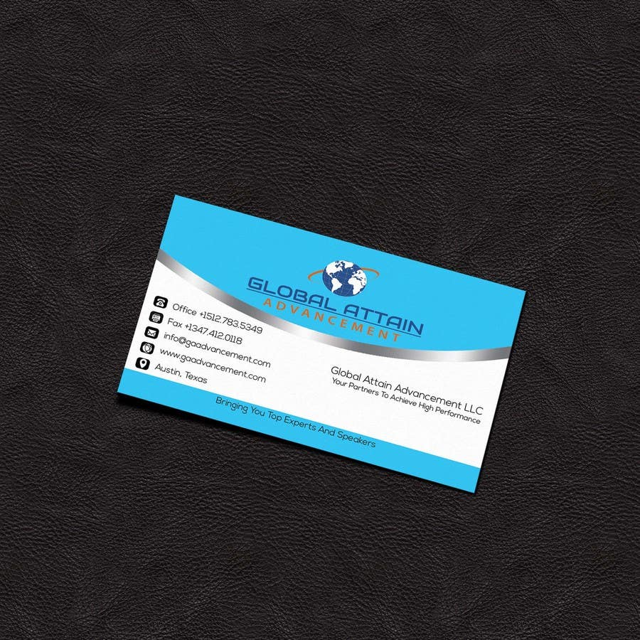 Bài tham dự cuộc thi #5 cho Design some Business Cards for GAA