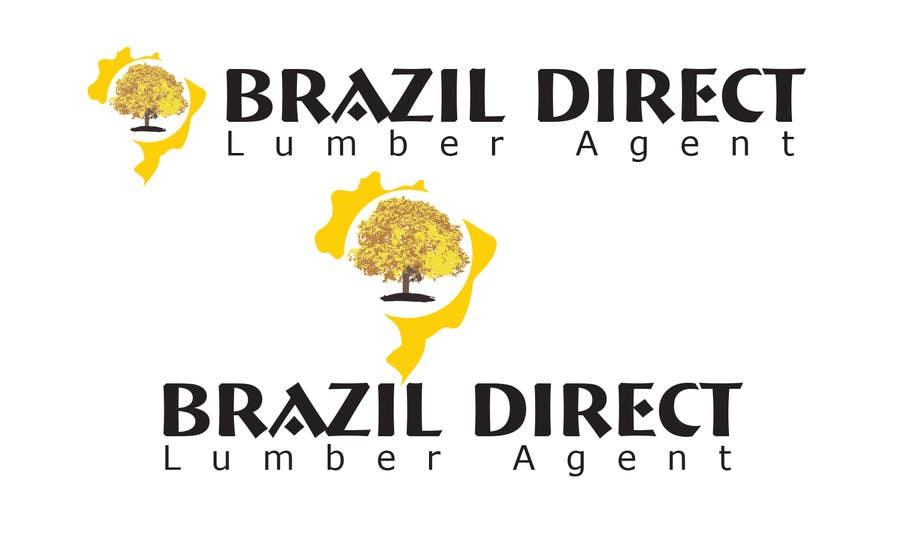 Penyertaan Peraduan #47 untuk Projetar um Logo for lumber company