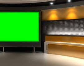 #3 untuk Design greenscreen backdrops/studios oleh F4MEDIA