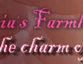 #24 for Design a Banner for Maria's Farmhouse by Ahldes