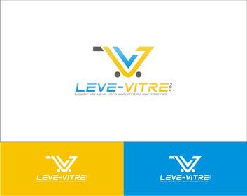 RPDonthemove tarafından Logo for Leve-Vitre.com için no 20