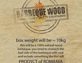 #6 for Create Print and Packaging Designs for Barbeque wood af sandrasreckovic