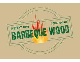 asaddiu tarafından Create Print and Packaging Designs for Barbeque wood için no 15