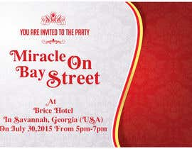 #77 cho Design for a Print Invitation to a Christmas Party in July in Savannah, GA bởi GraphicHimani