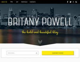 #23 untuk Design a Blogger Landing Page oleh ibutterfly