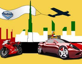 #9 for Illustrate Something for new cars & motorcycles website af nishankumar