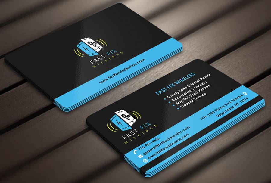 Entry #19 by Derard for Provide a business card which defines the ...