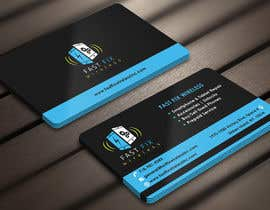 #19 untuk Provide a business card which defines the mobile repair industry oleh Derard