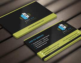 Nro 22 kilpailuun Provide a business card which defines the mobile repair industry käyttäjältä Derard