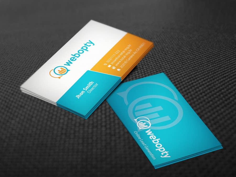Design Business Cards For Digital Marketing Company Freelancer