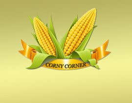 #13 for Create a Logo and Food Stall Look for Corny Corner af cristinaa14