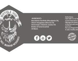 #3 untuk Design 3 Beard Oil Labels for new products launch oleh sixpl