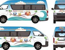#30 for Design a vinyl wrap for a bus af NavCZ