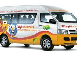 #33 for Design a vinyl wrap for a bus af kiryank