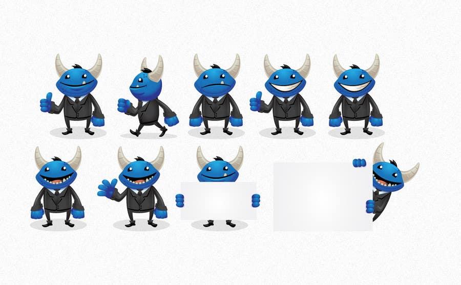Kilpailutyö #13 kilpailussa Graphic design for new character,
