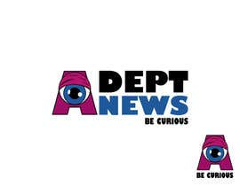 #7 para Design a Logo for Adept News por HansPJ
