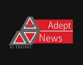 #9 para Design a Logo for Adept News por Marilynmr