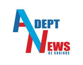 #10 para Design a Logo for Adept News por Marilynmr