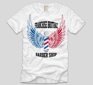Nro 13 kilpailuun Design a T-Shirt for barbershop käyttäjältä ezaz09
