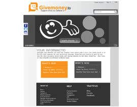 #17 untuk Develop a Corporate Identity for Givemoney.to oleh alizainbarkat