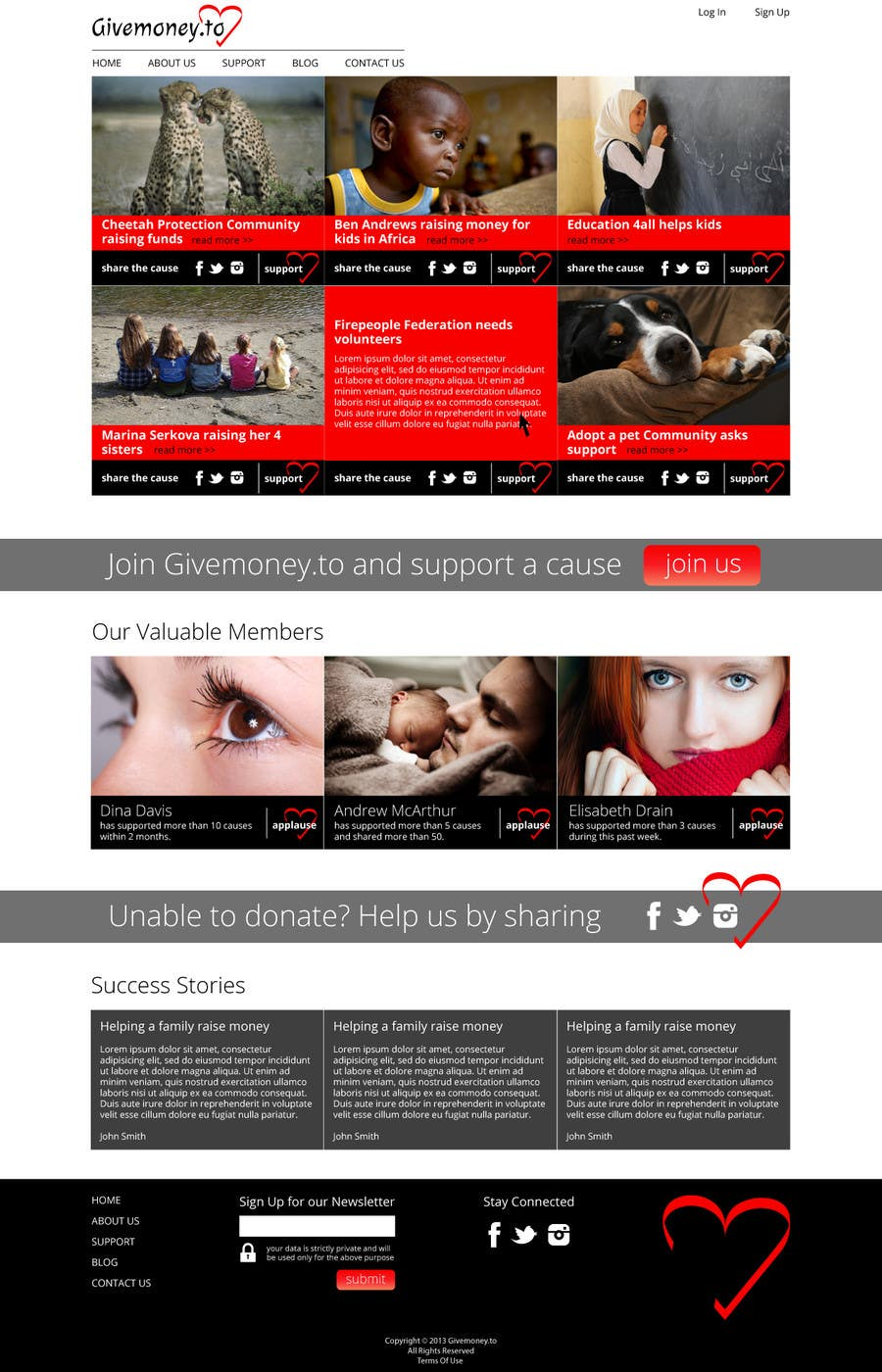 #1 for Develop a Corporate Identity for Givemoney.to by Dzains