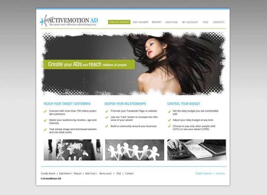 Bài tham dự cuộc thi #30 cho Website Design for Active Motion Ad
