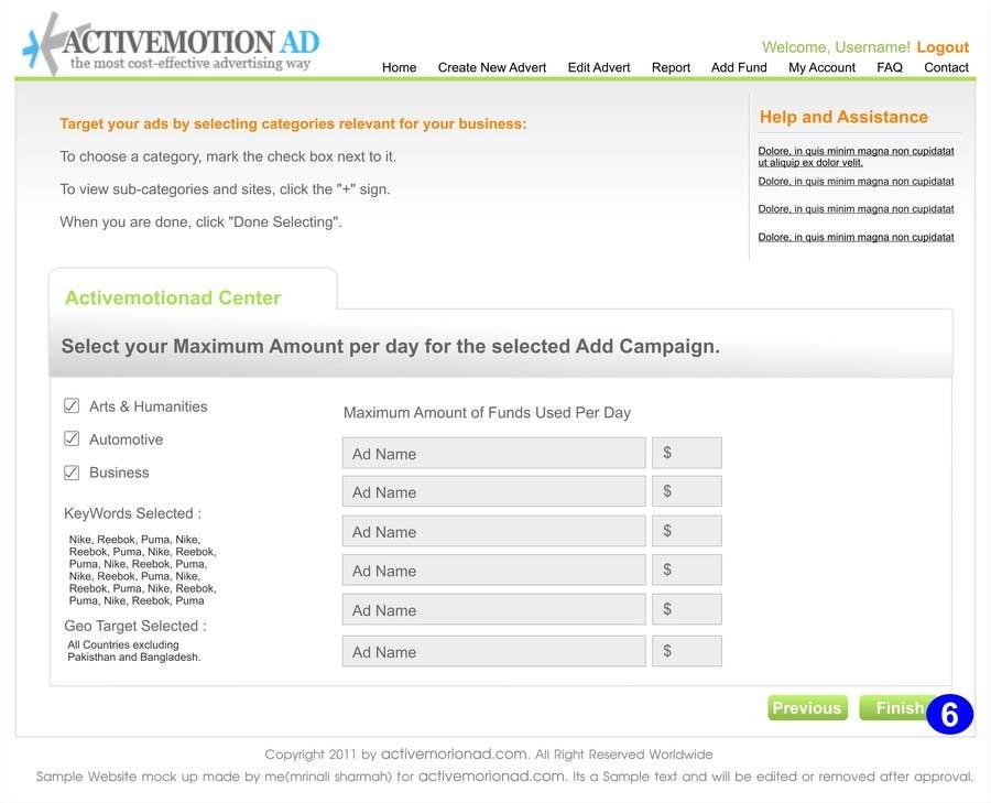 Inscrição nº                                         24                                      do Concurso para                                         Website Design for Active Motion Ad