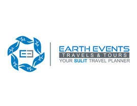 #50 untuk Design a Logo for EARTH EVENTS Travels & Tours oleh gurmanstudio