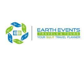 #59 untuk Design a Logo for EARTH EVENTS Travels & Tours oleh gurmanstudio