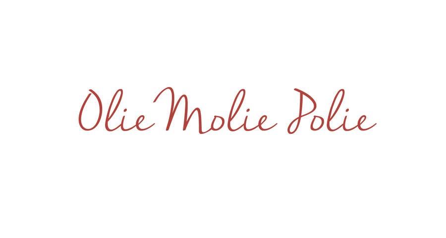 """Konkurrenceindlæg #8 for Design a Logo for a personal blog """"OlieMoliePolie"""""""