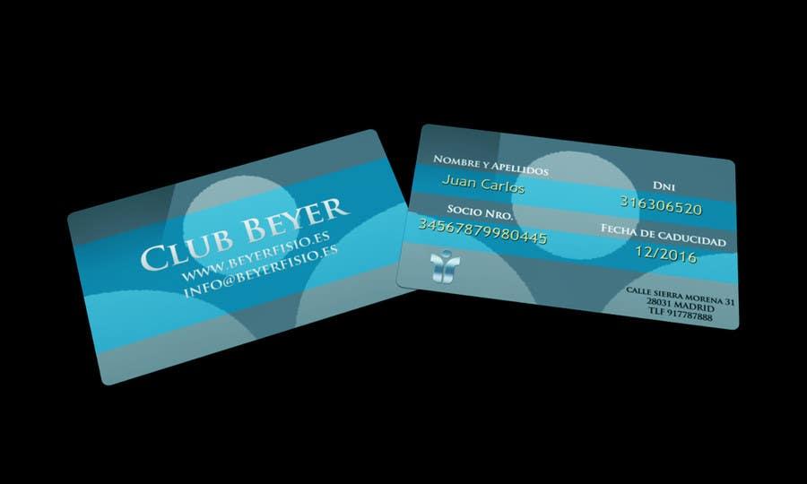 Inscrição nº 1 do Concurso para diseño club