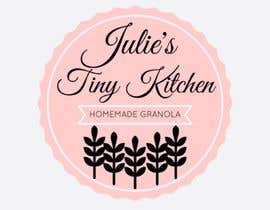 #22 untuk Design a Logo for Julie's Tiny Kitchen oleh Hanarosli1408